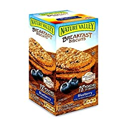 Nature Valley Breakfast Biscuits, Blueberry , 31.86 Ounce