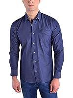 Galvanni Camisa Hombre Cerrone (Azul Oscuro)