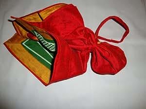 BagGammon - Travel backgammon set in a bag - full size cloth board