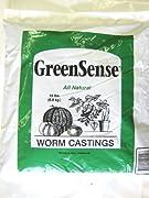GreenSense Organic Earthworm Castings, 30 lb.