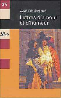 Lettres d'amour et d'humeur par Bergerac