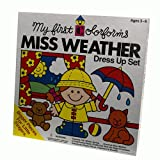 My First Colorforms - Little Miss Weather Dress Up Set - University Games ~ University Games