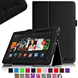 "Fintie Kindle Fire HDX 8.9 Folio Case Slim Fit Leather Cover (will fit Amazon Kindle Fire HDX 8.9"" Tablet 2014 4th Generation and 2013 3rd Generation) - Black"