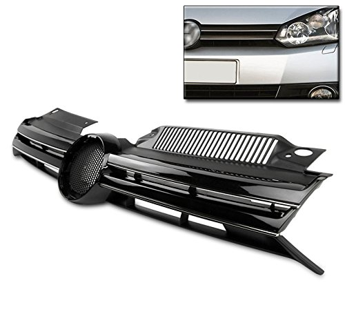 ZMAUTOPARTS VW Golf GTI/ Jetta MK6 Wagon Front Upper Hood Grille Grill Euro Style (2012 Jetta Front Emblem compare prices)
