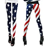 Amour Patriotic Sexy Colorful Prints Fashion Leggings Tights Pants Jegging