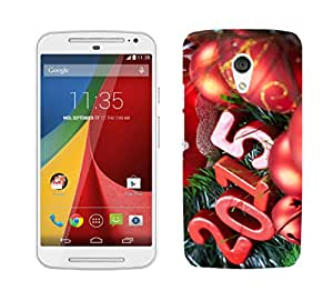 Wow Premium Design Back Cover Case for Motorola Moto G (2nd Gen)
