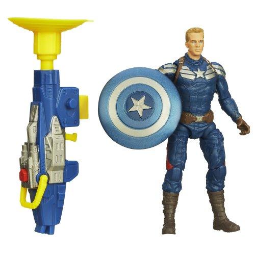 Captain America Super Soldier Gear Grapple Cannon Action Figure - 1