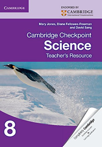 Cambridge Checkpoint Science Teacher's Resource 8 (Cambridge International Examin)