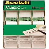 Scotch Magic Tape , 3/4 x 300 Inches (3105), Pack of 9
