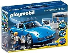 Comprar Playmobil Porsche 911 Targa 4S - figuras de construcción (Playmobil, Multi, Niño)
