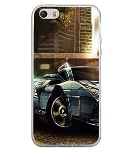 Racing Car 2D Hard Polycarbonate Designer Back Case Cover for Apple iPhone 4