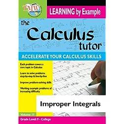 Calculus Tutor: Improper Integrals
