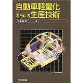 自動車軽量化のための生産技術