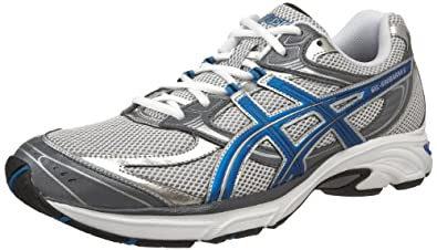ASICS Men's GEL-Kanbarra 6 T138N.0147 Running Shoe,White/Jet Blue/Charcoal,7 M US