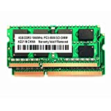 TOPARTS DDR3 8GB (2X4GB) 204PIN 1066MHz PC3-8500 SO-DIMM For imac/Mac mini/MacbookPro Memory Upgrade