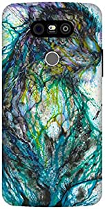 The Racoon Lean multicolor leapord hard plastic printed back case / cover for LG G5