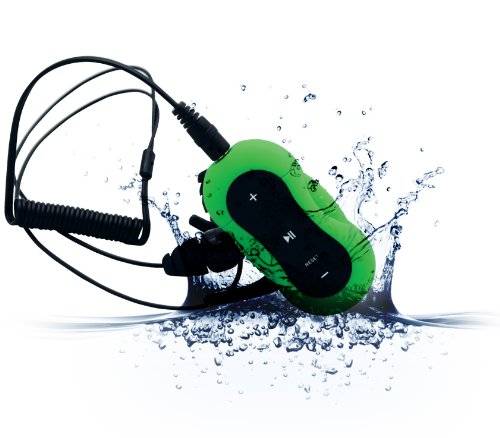 Aerb® 4G Waterproof Mp3 Music Player For Swimming & Other Sports (Ipx-8 Standard)--Green