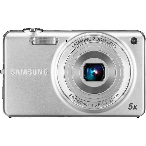 Samsung EC-ST65 Digital Camera with 14 MP and 5x Optical Zoom (Silver)