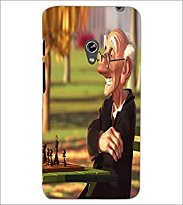 PrintDhaba Funny Image D-4014 Back Case Cover for ASUS ZENFONE 5 A501CG (Multi-Coloured)