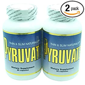 TSN Pyruvate, 500mg, 90 Capsules (Pack of 2)