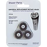 Appliances Parts Best Deals - Shaver-Parts: suitable for Philips & Remington HQ8 HQ9 HQ177 Têtes de rasage pour rasoirs Philips/Norelco