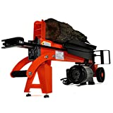 """WoodEze 7-Ton Electric Log Splitter   Split Firewood Up To 15"""" Diameter and 20"""" Long With Ease"""