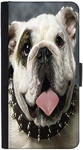 Snoogg English Bulldog Puppy Designer Protective Phone Flip Back Case Cover For Lenovo Vibe K4 Note