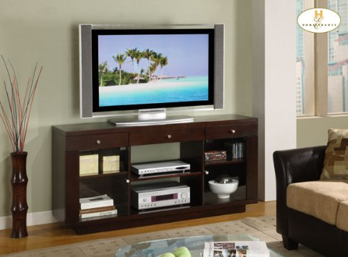 Cheap 62″ TV Stand by Homelegance – Cherry finish (8102) (B003MASG0G)