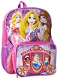 Disney Girls 2-6X Princess Carriage Backpack Lunch