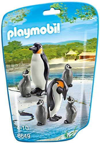 PLAYMOBIL Penguin Family Building Kit - 1