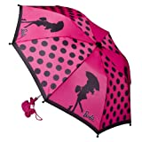 Girls' Outerwear Barbie Pink Umbrella