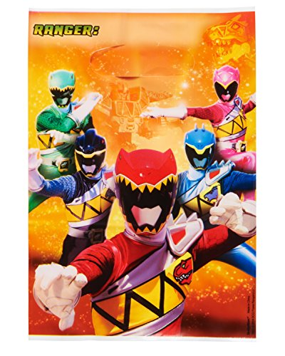 American Greetings Power Rangers Dino Charge Treat Bags (8 Count)