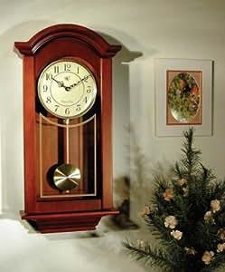 Buy River City Clocks Chiming Regulator Wall Clock with ...