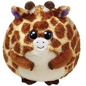 Ty Beanie Ballz Tippy Plush - Giraffe, Large