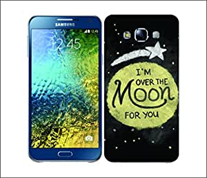 Galaxy Printed 2405 Moon Struck OvertheMoon Hard Cover for Samsung J5