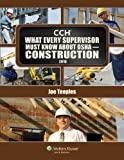 img - for What Every Supervisor Must Know About OSHA Construction 2010 book / textbook / text book