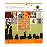 510BolTv9EL. SL160  Martha Stewart Crafts Halloween Paper Pad 12 x 12 Vampire By The Package