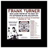 FRANK TURNER - Poetry of the Deed Matted Mini Poster - 24x21.5cm