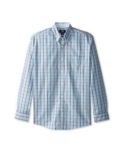 Cutter & Buck Men's Spring Hill Plaid Long Sleeve Shirt