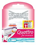 Wilkinson Sword Quattro For Women Razor Blades 6 Pack