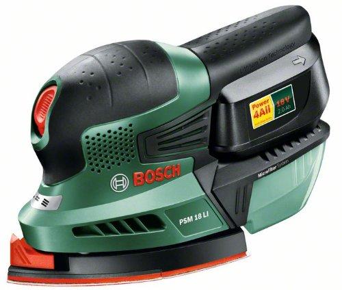 Bosch-Home-and-Garden-PSM-18-LI-Akku-Multischleifer-Universal-Ladegert-Akku-Schleifbltter-Koffer-18-V-20-Ah-Micro-Filtersystem