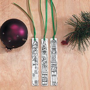 Wendell August Forge 3-Piece Santa and Friends Icicle Set