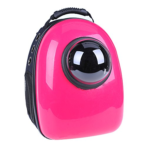 U-pet Innovative Patent Bubble Pet Carriers, Rose