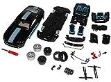 Ford Mustang VI Coupe Schwarz Ab 2014 Bausatz Kit 1/24...