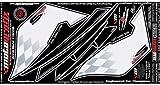 MOTOGRAFIX(モトグラフィックス) ボディーパッド BMW K1300S(09-) REAR ホワイト/ブラック MT-RB003U