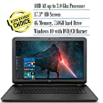 2016 HP 17.3 Inch Notebook Laptop (AM...