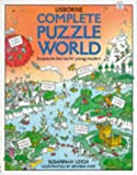 img - for Complete Puzzle World: Puzzle Island/Puzzle Town/Puzzle Farm/Puzzle Castle/Puzzle Planet/Puzzle Mountain (Usborne Young Puzzles) book / textbook / text book