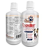 Glucosamine for Dogs - Liquid Hip and Joint Supplement Suitable for All Dog Breeds - Condrobest 32 Fluid Ounces - One of the Finest Products for Dog's Joint Relief