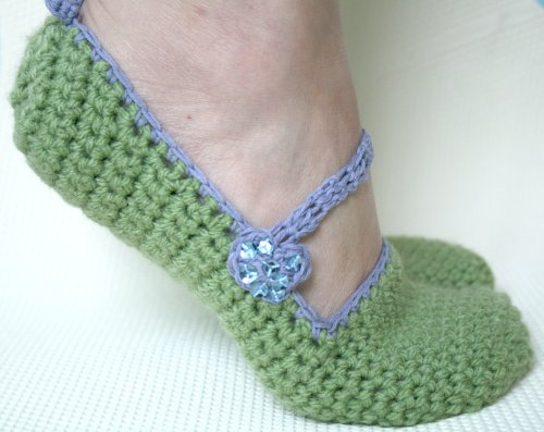 Free Crochet Patterns for Slippers  Socks