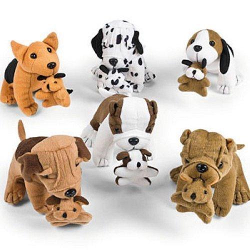 fun-express-plush-dogs-holding-puppies-1-dozen